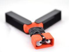 Earbud holder by sneakypoo - Thingiverse