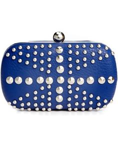 Sasha Handbag, Studded Minaudiere Clutch - Clutches & Evening Bags - Handbags & Accessories - Macy's