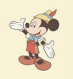 Mickey / Pinocchio