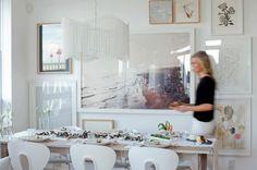 Holiday Home Tour: Stephanie Vogler Of The Cross Décor & Design   theglitterguide.com