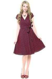Heartbreaker 1950's Style Black & Red Gazebo Diane...