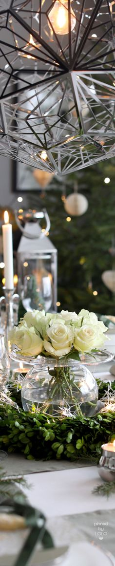 Gorgeous Holiday Tablescape | LOLO❤︎