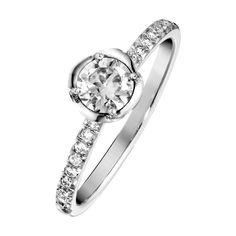 Piaget Rose #Engagement #Ring G34UR300 Platinum, diamond