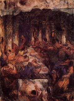 The Feast - Paul Cezanne   #cezanne #paintings #art