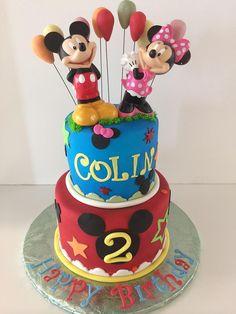 Mickey and Minnie   Gallery   Sugar Divas Cakery   Orlando   Cupcakes   Custom Cakes  Www.sugardivascakery.com