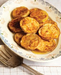 Eggplant Fritters with Honey.  I had these in Cordoba, Spain and have been looking for a recipe.
