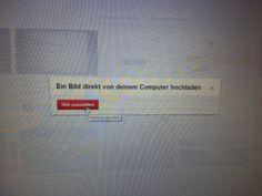 """Arbeitsschritt 3- Auf den Button """"Bild auswählen"""" klicken, um zu bestimmen aus welchem Ordner das Bild ausgewählt werden soll."""