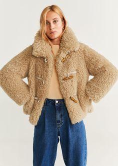 Wanted : un manteau en fausse fourrure chocolat Tendances