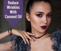 Reduce wrinkles with coconut oil. Coconut oil for skin is great! Coconut oil for anti aging works! So many beneficial uses for coconut oil and skin. Learn more about he different uses for coconut oil. Coconut Oil Beauty, Coconut Oil Uses, Coconut Oil For Skin, Anti Aging Tips, Face And Body, Beauty Skin, Skin Care Tips, Cure, Rid