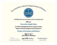 AACSB International - Fakultas Ekonomika dan Bisnis Universitas Gadjah Mada