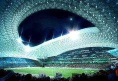 Stadium Velodrome in Marseille