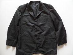 TAILOR ENGLAND Men's Sport Coat/Jacket Sz-( ) 24/32/25 Black Very Good!  #TailorEngland #ThreeButton