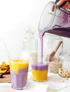 Recette de smoothie / Recipe smoothie