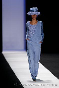 FERNANDA YAMAMOTO   Summer collection 2013-2014 - São Paulo Fashion Week  Photo: Ricardo Bufolin   Getty Images