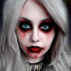 27 Cool (but Scary!) Halloween Makeup Ideas