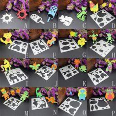 Cute Animal Horse/Lion/Owl DIY Scrapbooking Embossing Album Paper Card Craft Monkey Bee Metal Cutting Dies Stencil cut mold sale