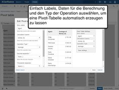 Table Filter Pivot-Tabelle konfigurieren