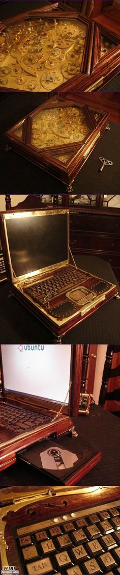 Steam Punk Laptop Mod. Please can I have can I have it?