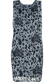 Acne Wise Leo chiffon dress!