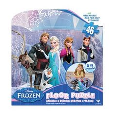 Disney Frozen 46-pc. Floor Puzzle #Kohls #FrozenFunAtKohls