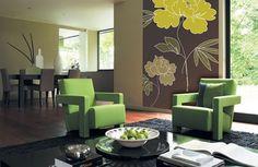 living room with colorful walls - Szukaj w Google