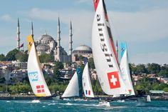 La Mosquée bleue et Sainte Sophie réunies... #istanbul !