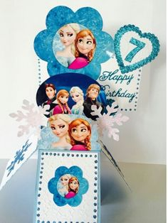 Frozen box card