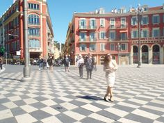 Place Massena #nice #swirling #floor #summer #europe # france