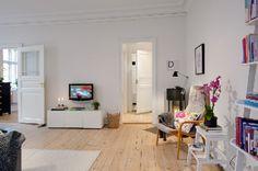 Scandinavian Apartment Room Design Tv Room
