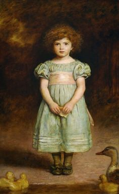 John Everett Millais: Ducklings, 1889.