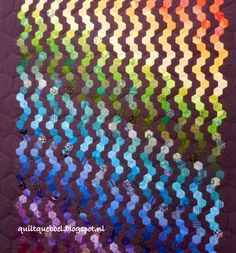 Quilt Quebbel results for hexagons