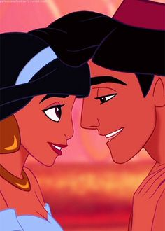 aladdin and princess jasmine, disney