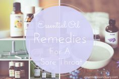 Stuck with a sore throat? Below you'll find a variety of ways to soothe your throat with essential oils and remedy any soreness.  The recipes listed will work to remedy your sore throat no matter it's cause - whether the cause is excessive dryness, a viral based infection or any other