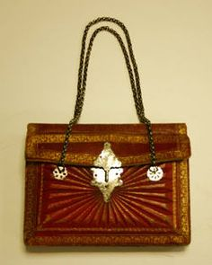Object Name  Bag (Reticule)  Date  early 19th century