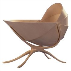 Shell Crib - From a unique collection of antique and modern children's furniture  | www.bocadolobo.com/ #luxuryfurniture #designfurniture
