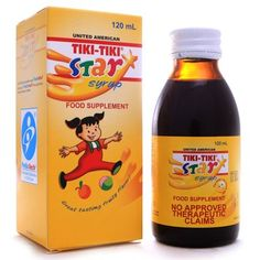 TikiTiki Star Plus Syrup 120ml -- Check out the image by visiting the link. (This is an affiliate link and I receive a commission for the sales)