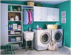 Resultado de imagen para cuartos de lavado sencillos