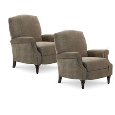 Nebraska Furniture Mart – Lane Hi-Leg Recliner - Set of 2