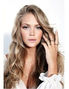 long dark ash blonde hair