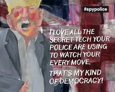 Privacy at public demonstrations Right To Privacy, Data Protection, Donald Trump, Police, How Are You Feeling, Cover, Painting, Donald Tramp, Painting Art