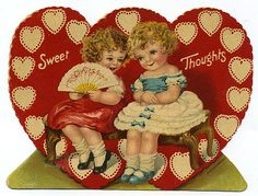 Sweet Thoughts - Valentine c. 1930