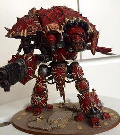 Chaos Imperial Knight #40k #wh40k #warhammer40k #40000 #wh40000 #warhammer40000 #whfb #warhammer #gw #gamesworkshop #wellofeternity #miniatures #wargaming #hobby