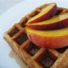 Cinnamon Belgian Waffles Recipe. Memories of when I first started dating my husband of 29 years!