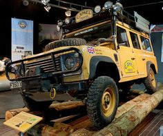 Land Rover Defender 90: Camel Trophy Pics