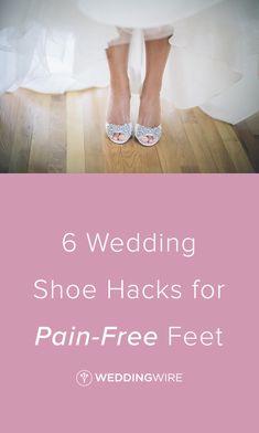 6 Wedding Shoe Hacks