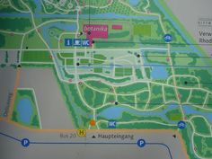 Map of Bremen's Rhododendron Park http://trailingahead.blogspot.com/2016/05/rhododendron-worlds.html