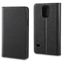Capa Samsung Galaxy S5 Muvit Slim Folio Preta R$58,50