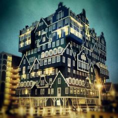 Inntel Hotels Amsterdam Zaandam (Иннтел Отель Амстердам Зандам)