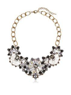 Leslie Danzis Gathered Dahlias Necklace