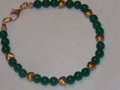 Jade Heart Bracelet by EriniJewel on Etsy, $18.00